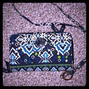 💜 matching Vera Bradley wallet & lanyard 💜